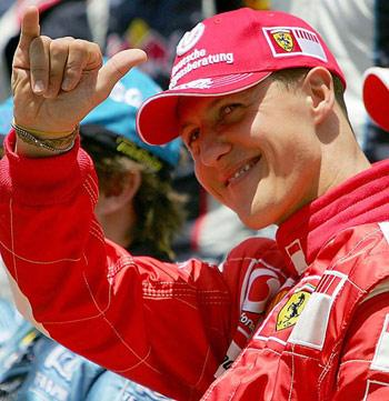 Семикратный чемпион мира Михаэль Шумахер