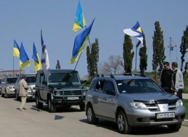 """Автопробег """"49-ая параллель"""" стартовал на Луганщине"""