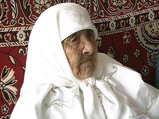 Долгожительнице Сахан Досовой было 130 лет