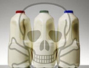 Половина молока содержит больше микробных клеток