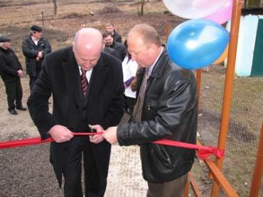В селе Петровка Ужгородского района открыто новое здание фельдшерско-акушерского пункта