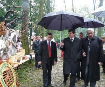 День работника леса в с.Яноши Береговского района Закарпатья