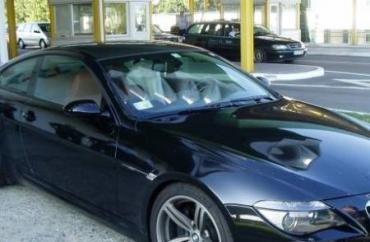 Легковой автомобиль марки BMW 645СИ, краденый