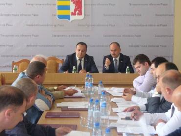 Внесено на розгляд пленарного засідання обласної ради більше 10 проектів рішень