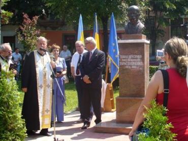Памятник Тарасу Шевченко в Сату-Маре (Румыния)