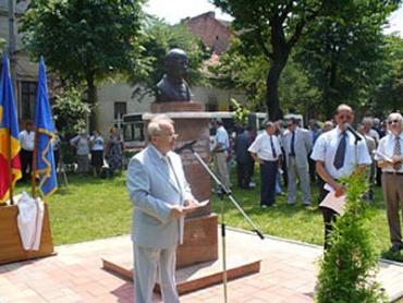 Відкриття пам'ятника Тарасу Шевченко в Сату-Маре (Румунія)