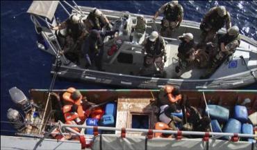 """Корвет """"Мальме"""" получил сигнал бедствия с греческого судна"""