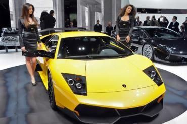 Спорткар Lamborghini разогнали до сотни за 3,2 сек.