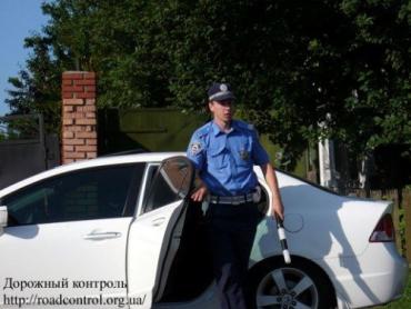 Патрулирование ГАИ в пешем режиме на авто Honda Civic 4D