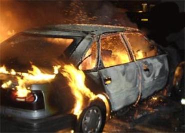 Таксист сгорел в машине на Кировоградщине