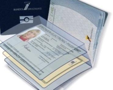 Электронный паспорт гражданина Украины