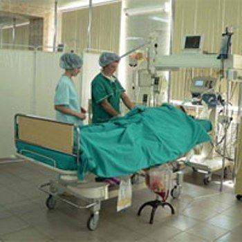 Реанимационное отделение Виноградовской больницы после капитального ремонта