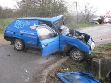 Лобовая авария в Словакии