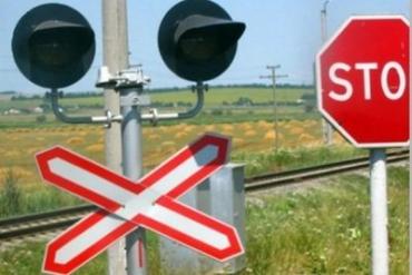 В Житомирской области Volkswagen на красный свет «влетел» под поезд Киев-Ужгород