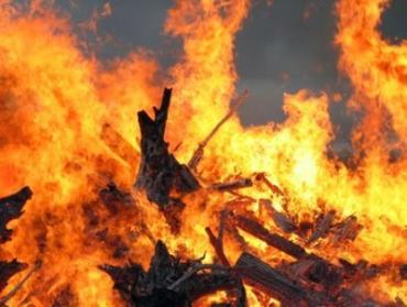 В Ужгороде на ул.Великокамьяная горел жилой дом