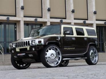 Hummer H2 Latte Macciatto выдает 547 л.с. вплоть до 228 км/час