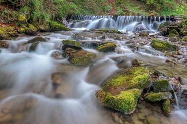 Хрустальный водопад Шипот