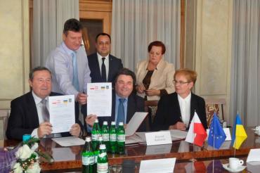 За ініціативи Володимира Чубірка школа отримала нових партнерів з Польщі