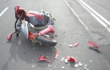 На Иршавщине ВАЗ сбил насмерть байкера