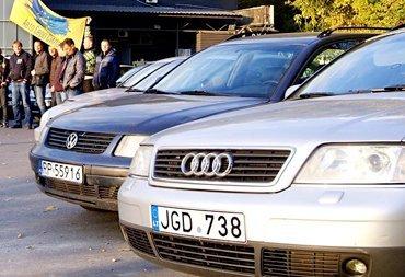 Владельцев авто с иностранными номерами ждут огромные штрафы