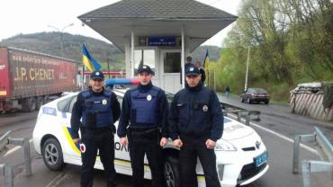 Полиция будет обслуживать дорогу от Мукачево до Нижних Ворот