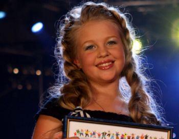 Виктория Петрик заняла второе место на детском конкурсе Евровидение-2008