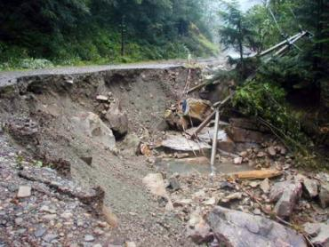 На Закарпатье ликвидировали последствия стихийного бедствия?
