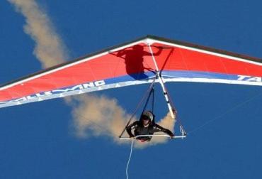 В Закарпатье прошел первый розыгрыш национальных соревнований по парапланетаризму