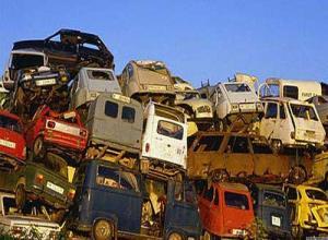 В России наладят процесс уничтожения старых автомобилей