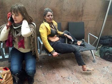 Серия терактов в Брюсселе: в аэропорту и метро прогремели взрывы