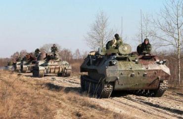 Украинская армия перешла в наступление на Луганск