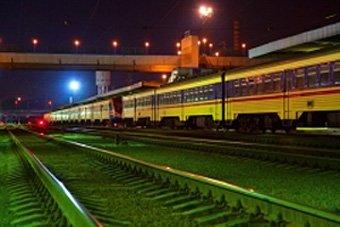 Украинский народ в поездах