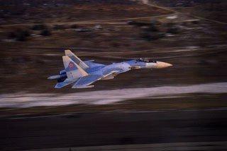 Новейший истребитель Су-35