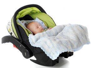 Пребывание ребенка в автокресле может понизить содержание кислорода в его крови