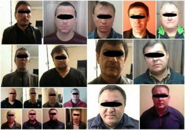 """Задержанные"""" воры в законе """"Витя"""" Тбилисский"""", а также его подмастерья"""