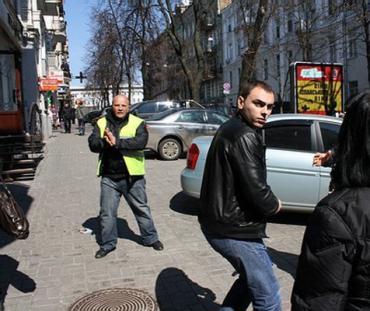 В Киеве избит корреспондент российского ИА «Новый Регион» Тарас Бурнос