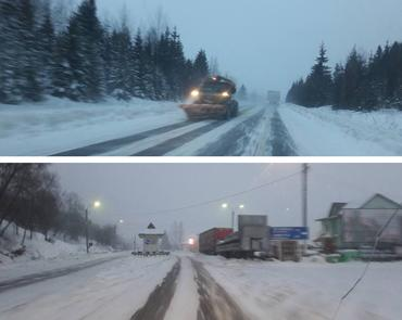 """На закарпатском отрезке дороги """"Чоп-Киев"""" нехватка снегоочистительных машин"""