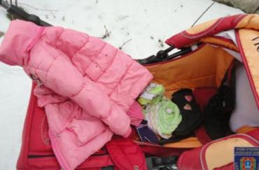 В Кілії була залишена двохрічна дитина на вулиці