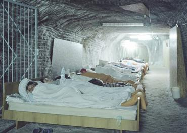 Клиника в Солотвино располагалась на глубине 300 метров