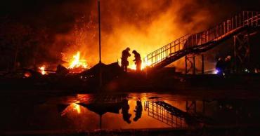 Число загиблих дітей в результаті пожежі збільшилось до трьох