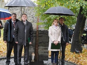 В Ужгороде почтили 61-годовщину венгерского восстания