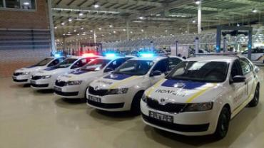 """""""Еврокар"""" в Закарпатье выпустил партию полицейских авто"""