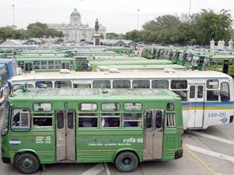 Таиландские автобусы.