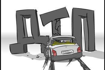 В ДТП под Киевом один пассажир от полученных травм погиб на месте инцидента