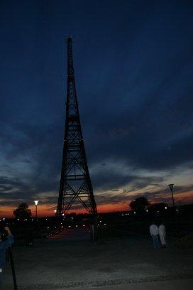 Вышка-антенна Гливицкой радиостанции