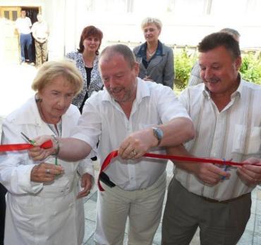На відкритті нової шкільної їдальні у селі Оноківці