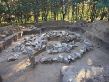 Каменный культовый комплекс принадлежит эпохе ранней бронзы