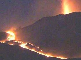 Жителей Чили эвакуируют из-за извержения вулкана Льяйма