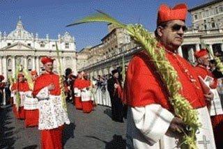 Ватикан празднует пальмовое воскресенье
