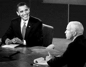 Теледебаты между Обамой и Маккейном